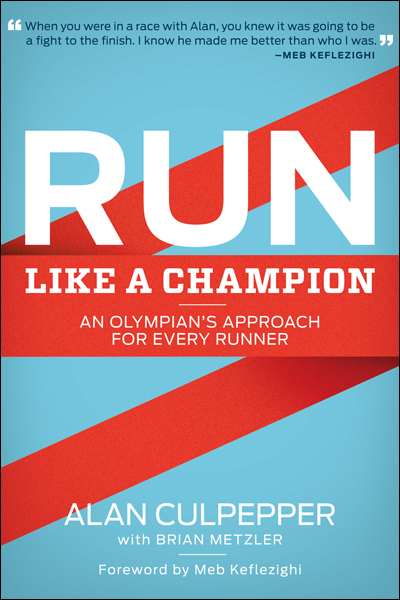 Run like a champion book cover